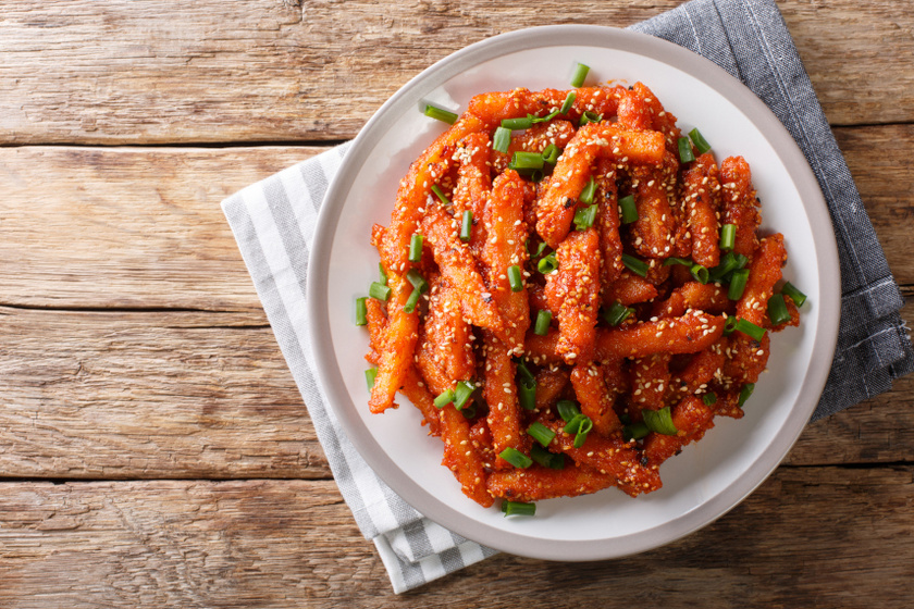 chilis mézes sültkrumpli recept ok