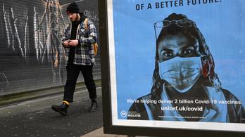 Itt az új csúcs, több mint 60 ezer koronavírus-fertőzöttet azonosítottak egy nap alatt az Egyesült Királyságban