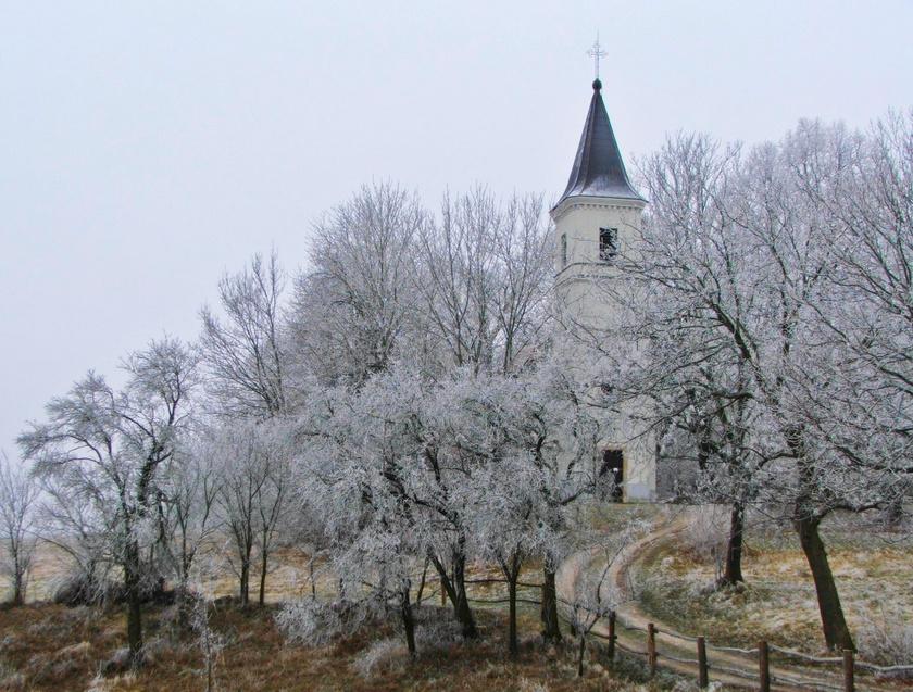 vérteskozma templom tél