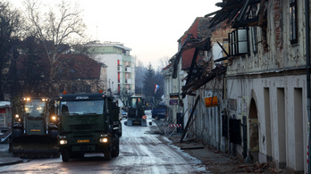 Félmilliárdos kárt okoztak Magyarországon a horvátországi földrengések