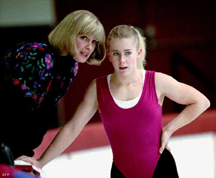 Harding és régi-új edzője, Diane Rowlinson