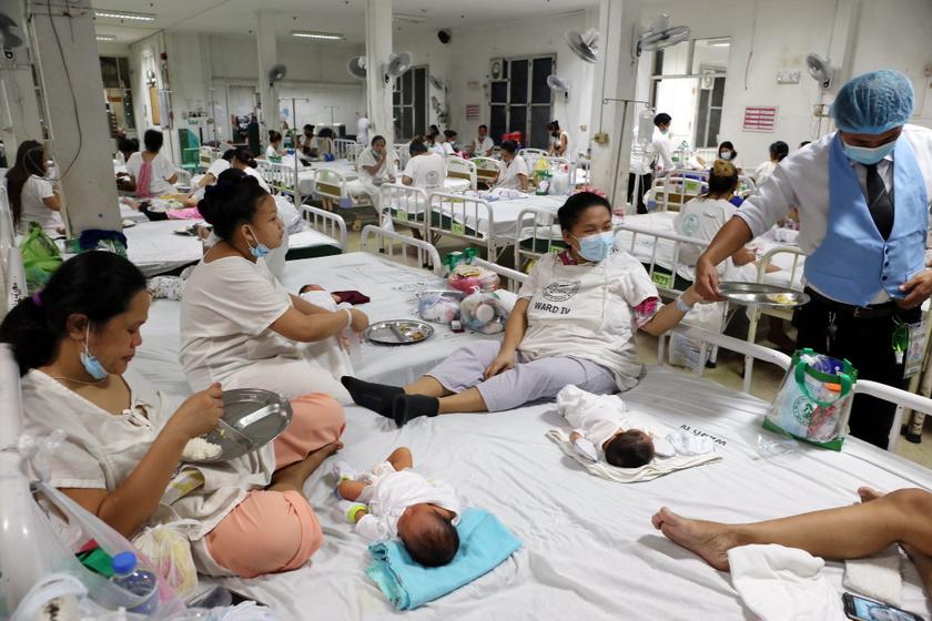 A Fülöp-szigeteki babagyár a koronavírus idején.