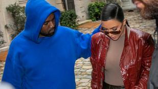 Kim Kardashian még nem is válik Kanye Westtől