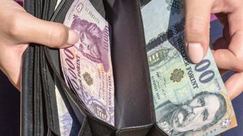 Októberben már 397 400 forint volt a bruttó átlagkereset