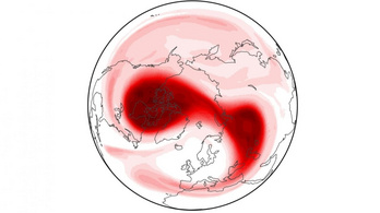 Hideget hoz Európába az Északi-sark melegedő magaslégköre