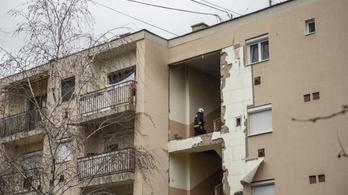 Gázrobbanás történt egy gyöngyösi társasházban, egy ember meghalt