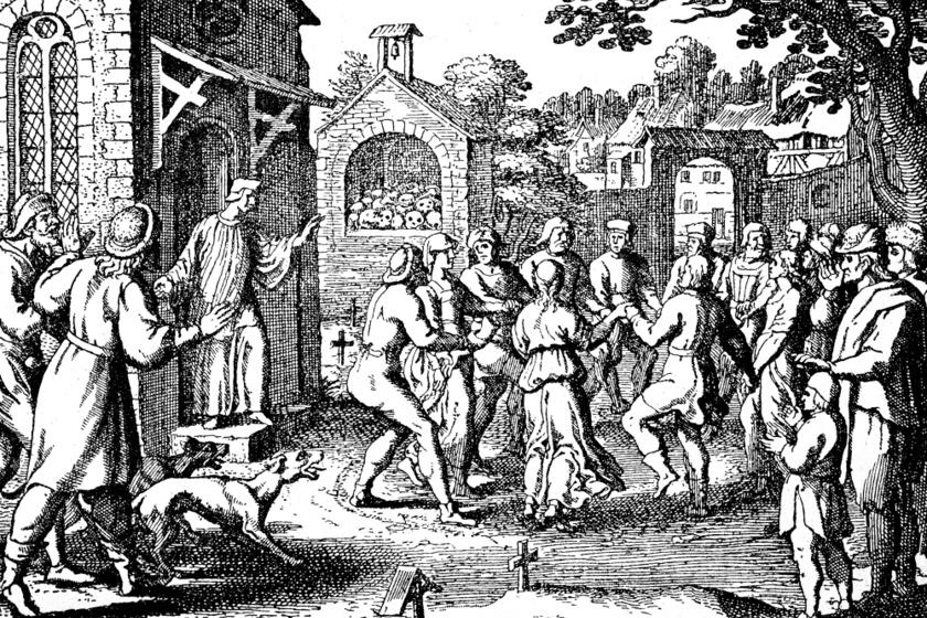 Amikor tömegesen táncolták halálba magukat az utcákon az emberek: a középkori táncoló pestis rejtélye