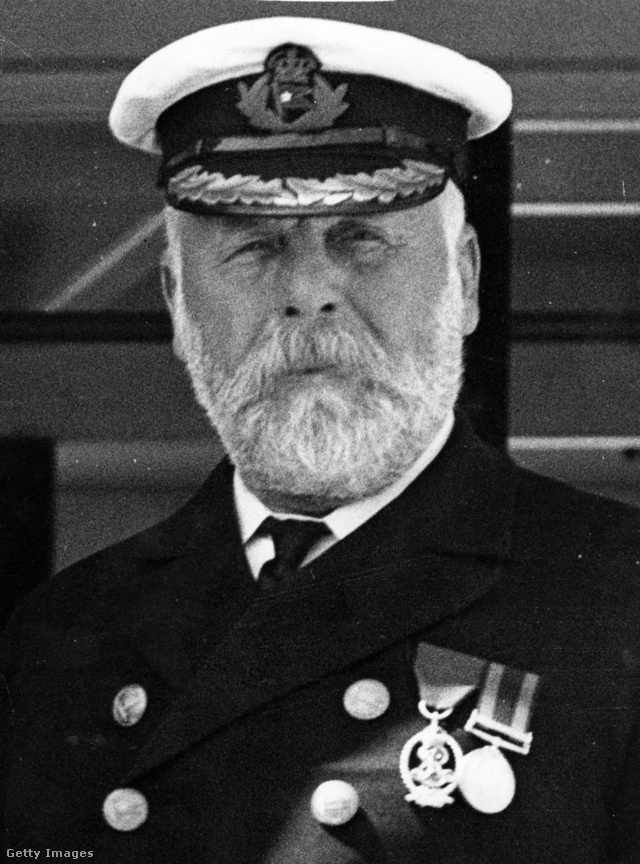 Edward John Smith (1850–1912), a Titanic kapitánya.