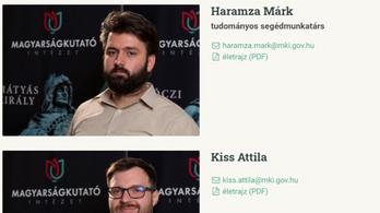 Eltűnt a Magyarságkutató Intézet két munkatársa a honlapjukról