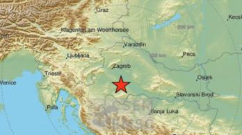 Érezték az újabb horvát földrengést több magyar városban is