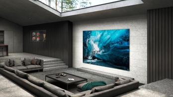 Ilyen lesz a Samsung 45 milliós televíziója