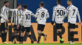 A Juventus idegenben vette el a Milan bajnoki veretlenségét