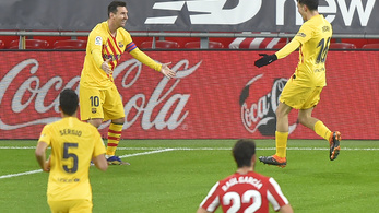 Lionel Messi gálázott, a Barcelona ötgólos mérkőzést nyert