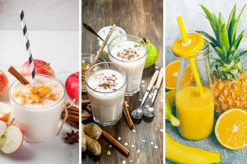 3 hatékony béltisztító, méregtelenítő ital: javítja az emésztést, és rengeteg vitamint tartalmaz