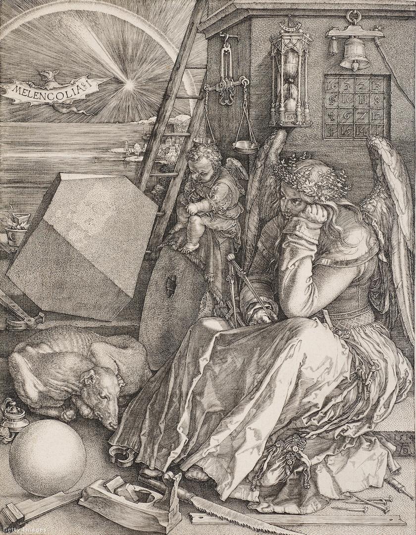 Albrecht Dürer: Melankólia I. 1414.