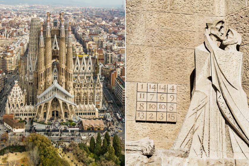 A Sagrada Família rejtélyes, alig ismert részlete: a bűvös négyzeteknek mágikus erőt tulajdonítottak