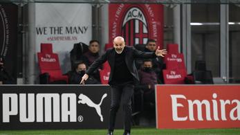 A vereség ellenére nem elégedetlen a Milan edzője