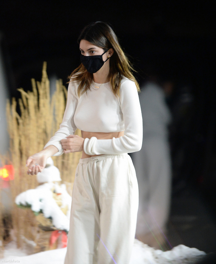 Kendall Jenner modell megérkezik Aspenbe.