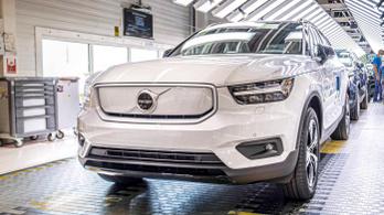 Új villanyautót ígér a Volvo