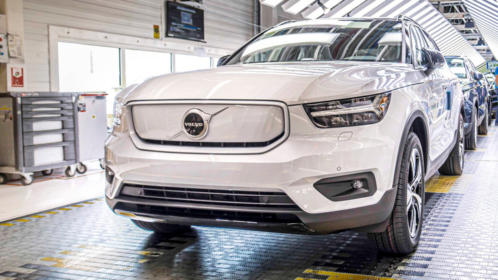 xc40recharge ghent