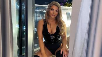 Pornósnak állt a 22 éves szexi focista