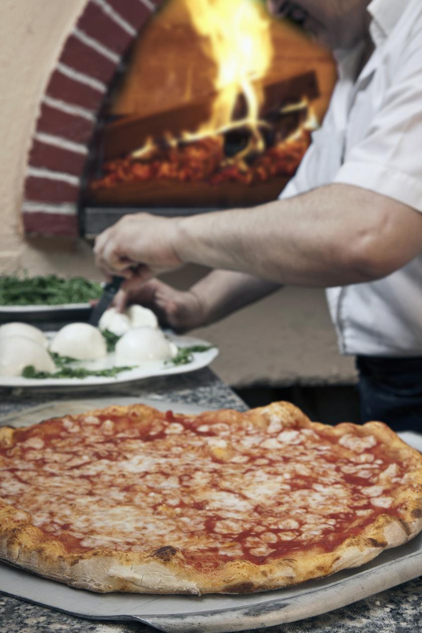 nápolyi pizza álló ok