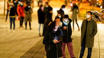 Átlépte a kétmilliót a koronavírus-fertőzöttek száma Spanyolországban