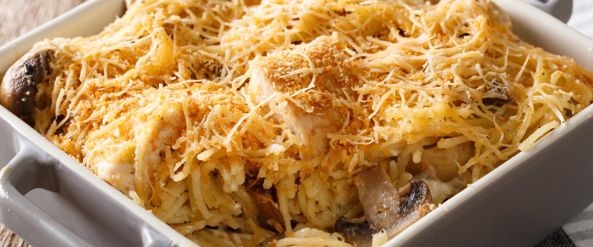 amerikai csirkés spagetti cover