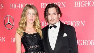 Johnny Depp szerint Amber Heard megtartotta magának a kétmilliárdot, amit jótékonyságra szánt