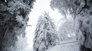 16 friss kép a téli Európáról