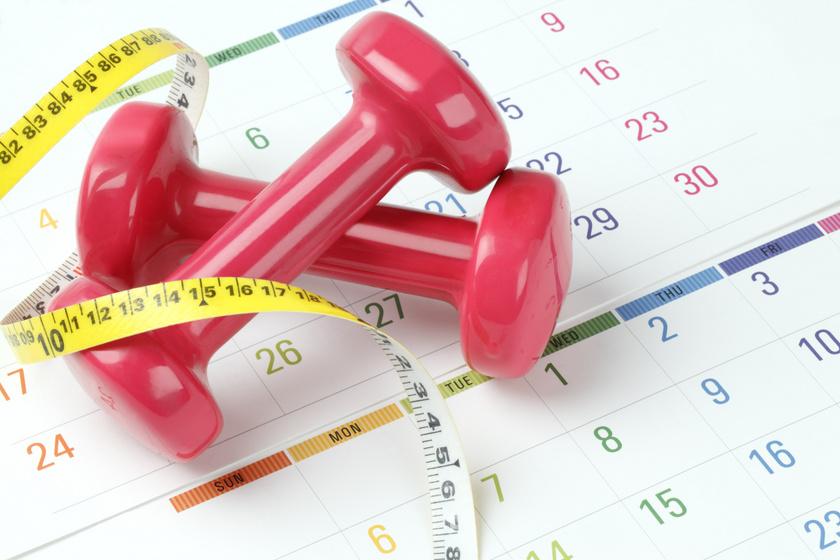 10 kiló mínusz tavaszig: 1 hónapos étrend és edzésterv a személyi edzőtől