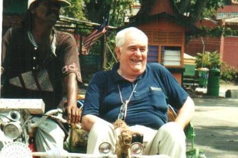 Dávid Sándor Malajziában