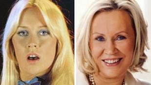 Az ABBA énekesnői a hetvenes éveikben is nagyon jól néznek ki