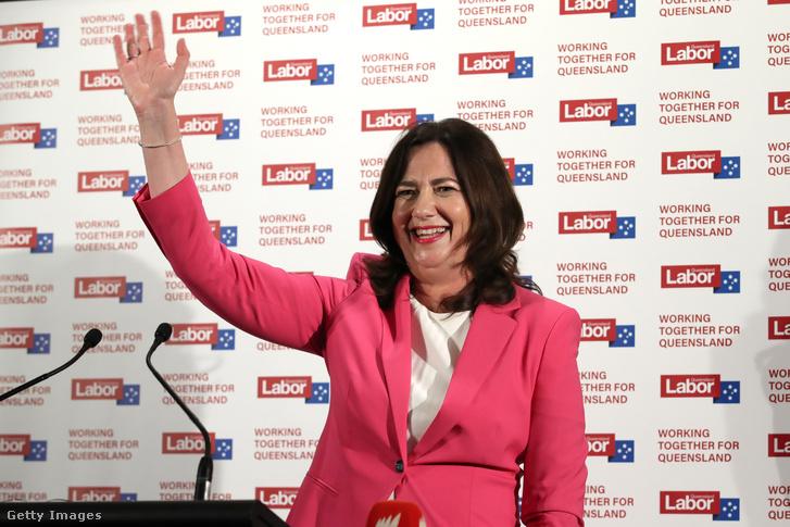 Annastacia Palaszczuk, Queensland állam kormányfője.