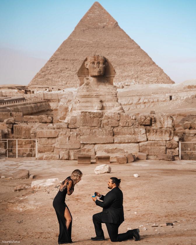 Egyiptomi utazásukat biztosan nem fogják elfelejteni: Enes ekkor kérte meg Weslie kezét