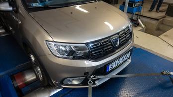 Totalcar Erőmérő: Dacia Logan tce 1.0 LPG– 2020.