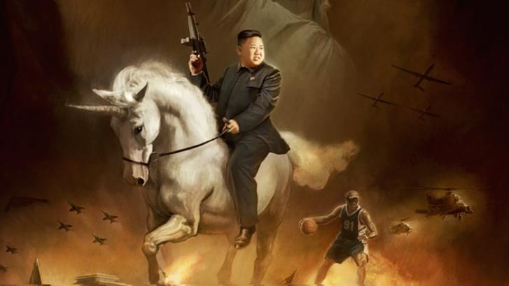 Kim Dzsongun a Glorious Leader!-ben. (Forrás: Moneyhorse)