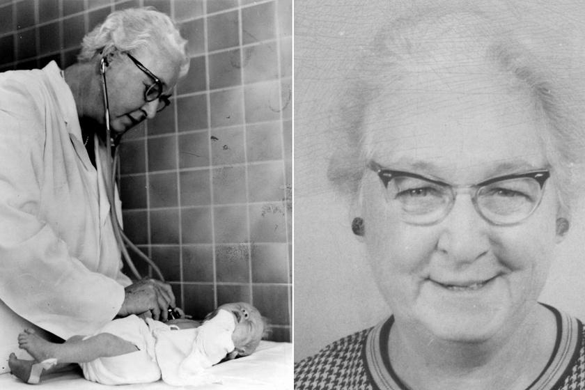Reggeli közben, egy szalvétára írta fel módszerének alapjait Virginia Apgar, az újszülöttek megmentője