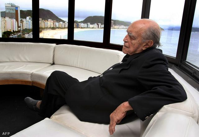 Oscar Niemeyer 100. szülinapján Rio de Janeiroban