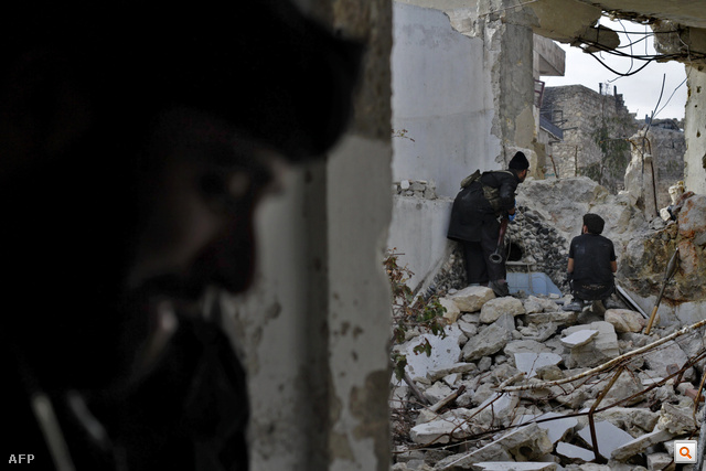 Párhuzamos világok Szíriában. Nagykép