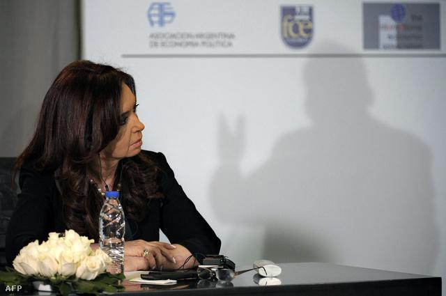 Cristina Fernandez de Kirchner argentin elnök