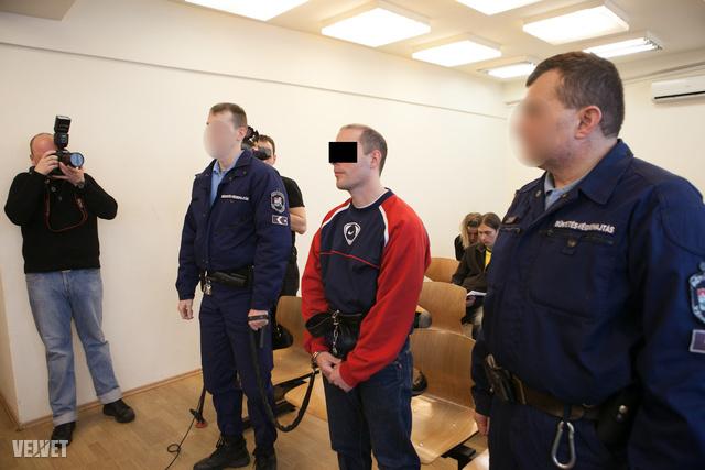 Z. Csaba a bíróságon