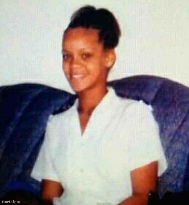 Rihanna 15 évesen