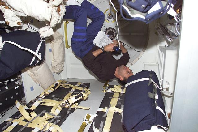 Hálószoba az ISS-en