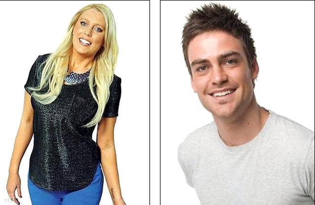 Mel Greig (b) és Michael Christian, az ausztrál 2Day FM rádió két munkatársa