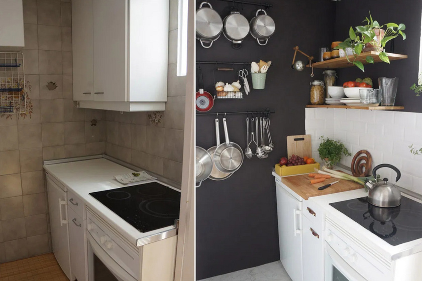 Apró, sötét konyhából kényelmes főzőbirodalom: előtte-utána képeken az inspiráló átváltozások
