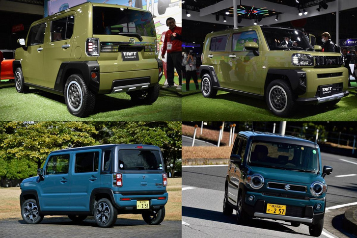 Daihatsu Taft vs Suzuki Hustler