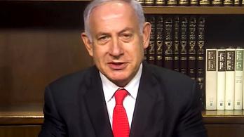 Benjamin Netanjahu is felköszöntötte a százéves Keleti Ágnest