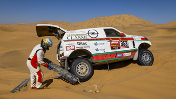 Szalay Balázsék feladták a Dakar-ralit