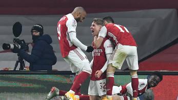 Az Arsenal hosszabbítás után ejtette ki a Newcastle-t
